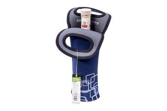 Bottle Travel Protector Cooler Bag Blue