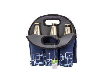 Bottle Travel Protector Cooler Bag Blue