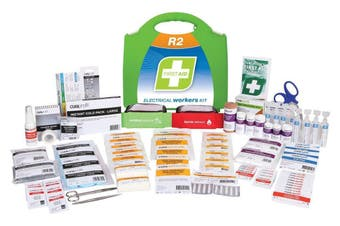 R2 Electrical Workers First Aid Kit Plastic Portable