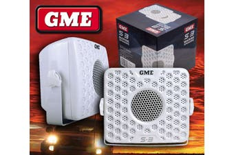 GME S3 Waterproof Marine Audio Speakers