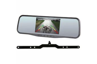 Gator High Res Clip On 5 Inch Stealth Mount Reversing Camera Mirror