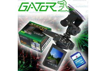 Gator 2.5 Inch Crash Dash Camera Recorder
