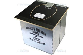 Jimmy's Thunderbox Outdoor Portable Toilet Black