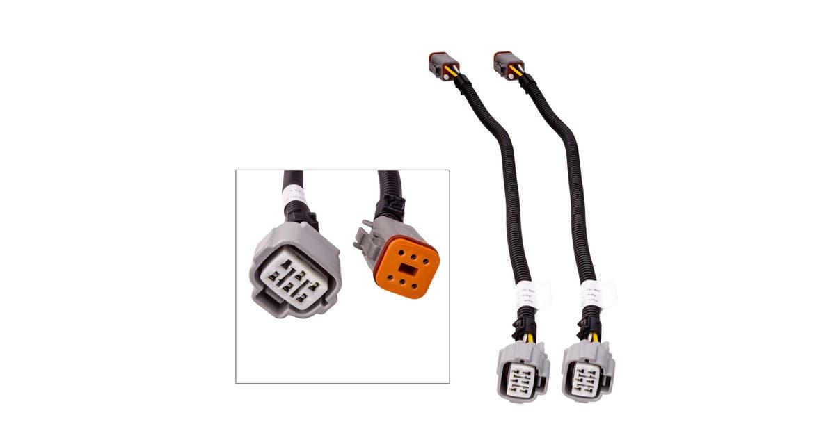 LED Autolamps Adapter Harness for Mitsubishi Triton MQ
