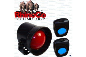 Rhino Remote Keyless Car Alarm Security System