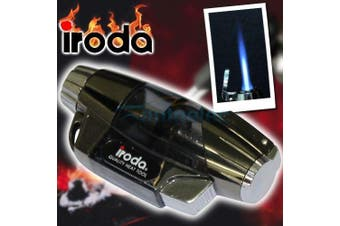 Iroda Turbo Light Piezo Butane Gas Lighter