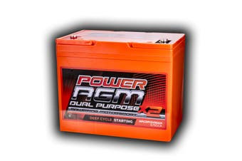 85Ah Amp Hour Battery Agm Sla 12 Volt 12V Deep Cycle Dual Purpose Under Bonnet