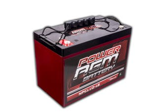 110AH AGM SLA 12V Deep Cycle Battery