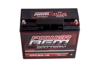 20Ah Amp Hour Battery Agm Sla 12 Volt 12V Deep Cycle Dual Fridge Solar 20 Ah New