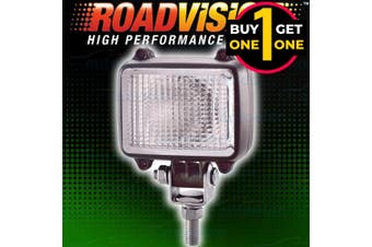 Black Friday Roadvision 12V 55W Compact Square Flood Lamp 2 For 1