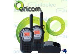 Oricom 1W 80 Channel Handheld UHF Radio Twin Pack