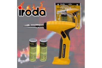 Iroda Gas Multifunction Soldering Iron & Welding Gun