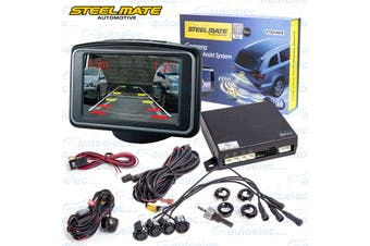 "Steelmate Car Rear View Reversing Camera & 3"" LCD Screen"
