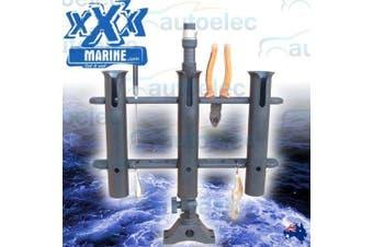XXX Marine 3 Way Fishing Rods Holder & Boat Mount Rack