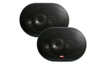 GME 6 x 9 Inch Flush Car Stereo Speakers