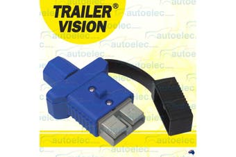 Trailer Vision Blue 50A Anderson Plug Cover and Dust Cap