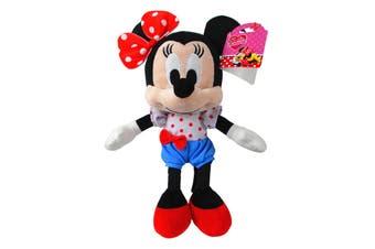 Minnie Mouse Medium Plush With Blue Shorts