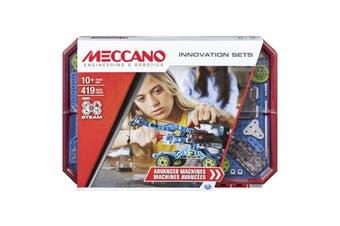 Meccano Innovation Sets Advanced Machines