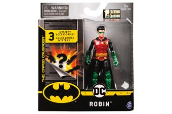 Guardian Robin Figure 10cm + Mystery Accessories DC Batman