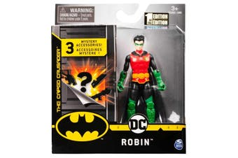 Robin Figure 10cm + Mystery Accessories DC Batman