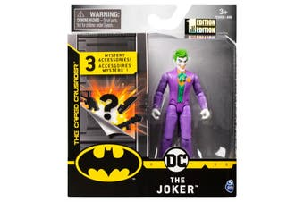 The Joker Figure 10cm + Mystery Accessories DC Batman