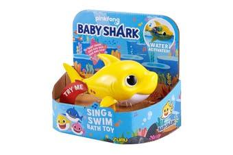 Baby Shark Robo Alive Baby Shark Yellow
