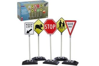 Australian Traffic Signs 5pk