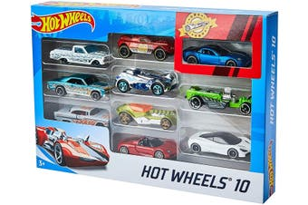 Hot Wheels 10 Pack Styles Assorted