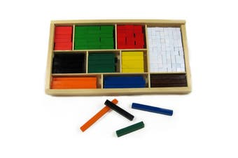 Cuisenaire Rods Maths Learning Aid 308Pc