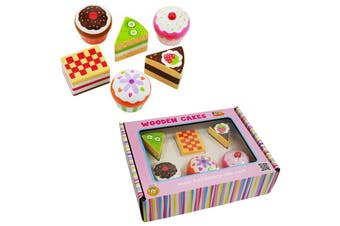 Wooden Cake Set Box
