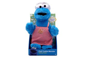 Chef Cookie Monster Talking Plush