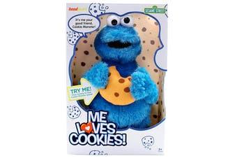 Me Loves Cookies Talking Cookie Monster