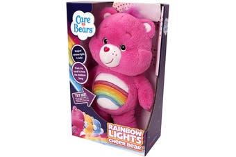 Rainbow Lights Cheer Bear Care Bears