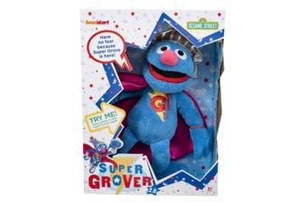 Talking Super Grover Plush 2.0 Sesame Street