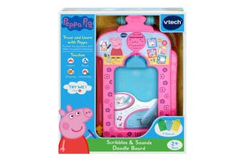 Vtech Peppa Pig Scribbles and Sound Doodle Board