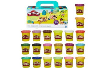 Play Doh Super Colour Can 20 Pack