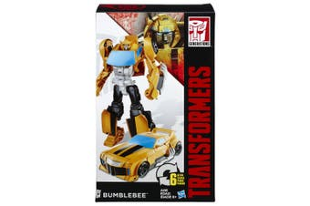 Transformers Generations Cyber Commander Series Bumblebee Action Figure