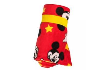 Mickey Mouse Fleece Throw Blanket