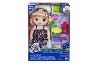 Baby Alive Sweet Spoonfuls Baby Girl Blonde