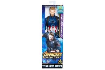 Captain America Titan Hero Figure Infinity War