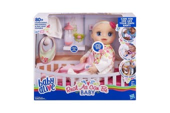 Baby Alive Real As Can Be Baby Girl Doll