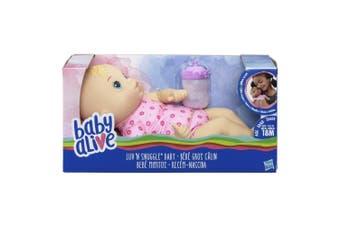 Baby Alive Luv n Snuggle Baby Blonde Hair
