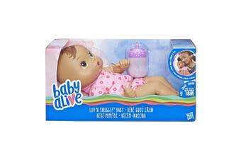 Baby Alive Luv n Snuggle Baby Brown Hair