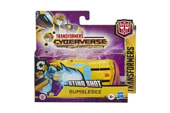 Transformers 1 Step Changer Bumblebee Action Figure