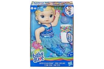 Baby Alive Shimmer 'n Splash Mermaid Blonde Hair