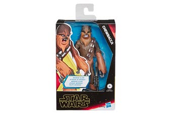 Star Wars Galaxy of Adventures Chewbacca Action Figure