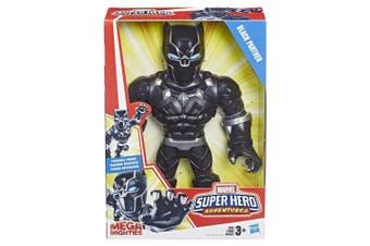 Playskool Black Panther Mega Mighties Poseable Figure