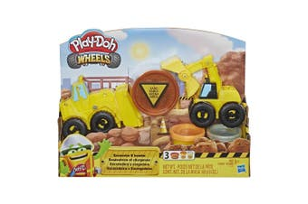 Play Doh Wheels Excavator and Loader