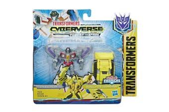 Transformers Cyberverse Spark Armor Starscream Action Figure
