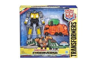 Transformers Cyberverse Spark Armor Grimlock Action Figure